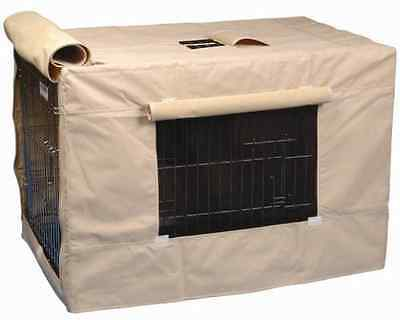 Precision Pet Indoor Outdoor Crate Cover for Size 3000 Crates, Tan