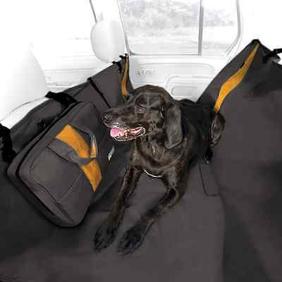 Kurgo Water Resistant Wander Hammock and Car Seat Cover for Dogs, Black - Lifeti