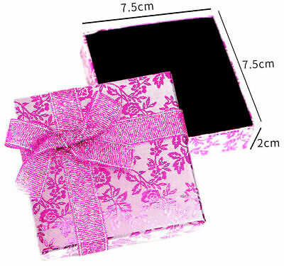 1 - 50 Wholesale PINK Gift Boxes For Jewellery Wedding Favour GIFT Box Packaging