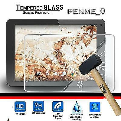 """Real Tempered Glass Film Screen Protector Cover For HIPSTREET Phantom 2 10.1"""""""