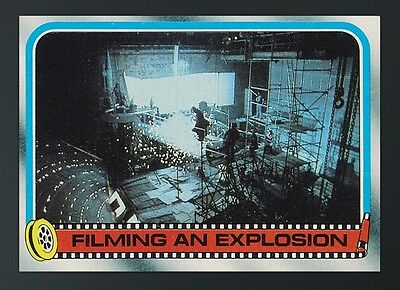 ESB S2 BEHIND THE SCENES FILMING AN EXPLOSION Topps Star Wars Trader Digital