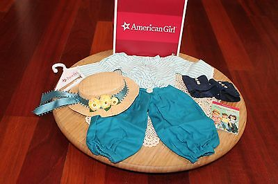 American Girl Doll Samantha's RETIRED FIRST VERSION Bicycling Outfit, NIB