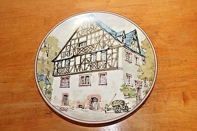 Karl Bedal Collector Plate Mosehaus in Rifsbach