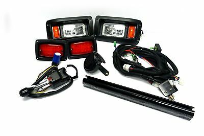 CLUB CAR DS GOLF CART DELUXE STREET LGL HALOGEN with LED Tail Light Kit 1993-UP