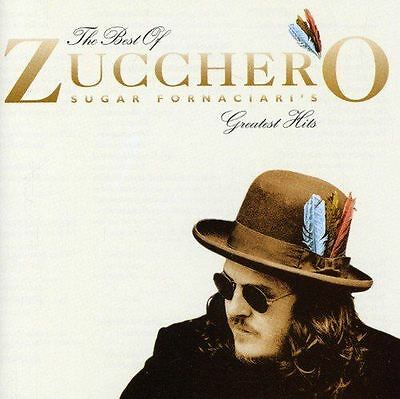 The Best Of Zucchero Sugar Fornaciari Greatest Hits Audio CD New Sealed