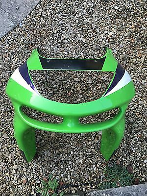 Kawasaki Zx6r Fairing Headlight Genuine Front Nose Cone Panel 98-01 G1 G2
