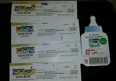 Enfamil Coupons- $22 Value + BONUS baby coupons $16+ Value