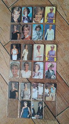 carte telefoniche 22 phone cards Lady Diana Spencer