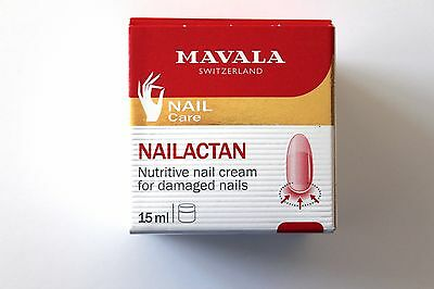 Mavala Nailactan Nutritive Nail Cream For Damaged Nails - 15ml