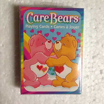 NEW CARE BEARS  Playing Cards standard size MINT FACTORY SEALED