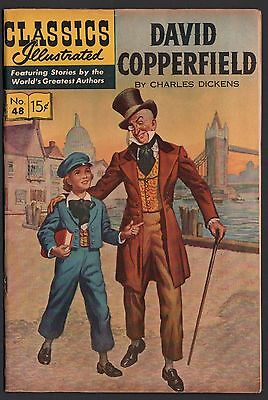 Classics Illustrated #48 HRN 167 F 6.0 OW David Copperfield DICKENS