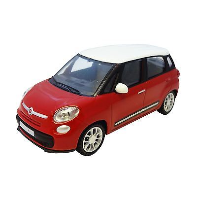 GENUINE Fiat 500L Toy Model Car 1:43 Red with White Roof - 50907544
