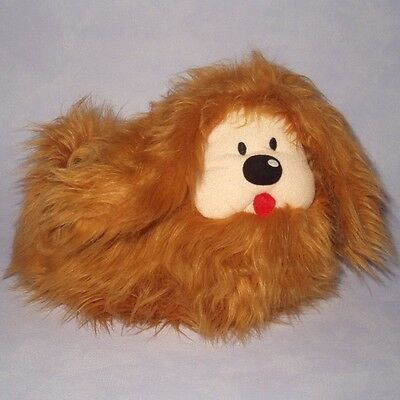 "THE MAGIC ROUNDABOUT 8"" DOUGAL THE DOG Fluffy Plush Soft Toy GOOD CONDITION"
