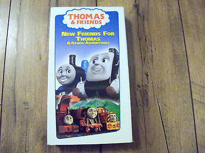 VHS Rare Tape Thomas the Tank Engine & Friends New Friends for Thomas