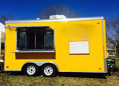 8.6X16 Food Concession Trailer (Food Truck)