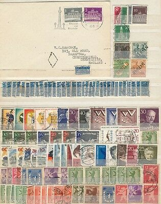 Germany, Birlin Issues With Cover M.mint And Good Used