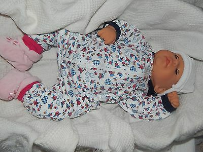 Large 19 Inches Baby Doll For Play/reborn