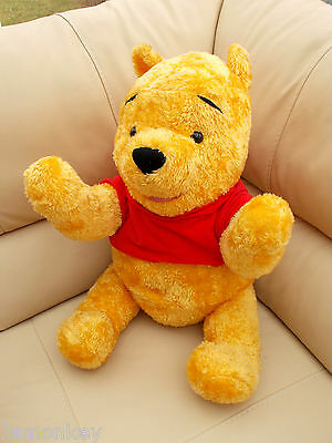 Talking Winnie the Pooh Large Soft Plush Cuddly Toy Teddy by Fisher Price Disney