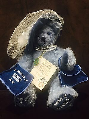 Rare Herman Queen Mum Special Limited Edition Teddy 1900-2002
