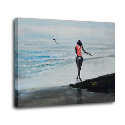"""20x24"""" Oil Painting Hand Painted Canvas Art Signed by Artist - Home Decor"""