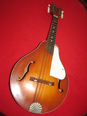 Vintage Airline Mandolin Wood Musical Instrument 8 String,Pear Shaped