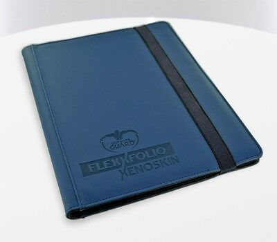 Ultimate Guard - 9-Pocket FlexXfolio XenoSkin Blue - Karten Mappen