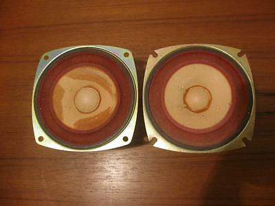 "nice 2 Foster 10f3 speakers 4"" full range audiophile speakers for your build #2"