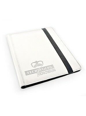 Ultimate Guard - 9-Pocket FlexXfolio XenoSkin White - Karten Mappen cardmap