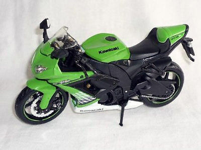 Modellino Scala 1:12 Kawasaki Zx 10 Dirt Bike