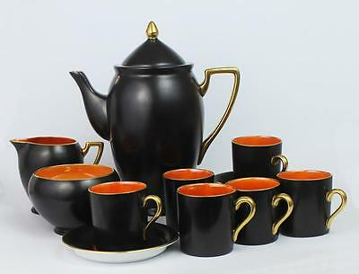 ART DECO Carlton Ware COFFEE SET c1925