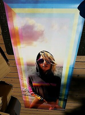 Victoria Secret Model, In Store Window Display VYNL POSTER LIFE SIZE LOVE PINK