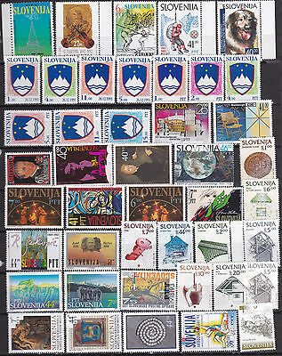 Slovenia 1991-1994 unused MNH stamps selection *b170115