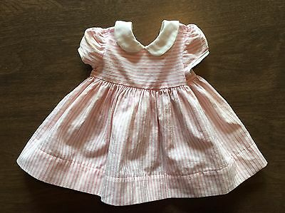 Vintage Chatty Cathy Original Tagged Pink Peppermint Stick Dress