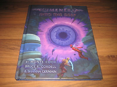 Numenera Into the Deep Sourcebook Hardcover Monte Cook Games New 2016