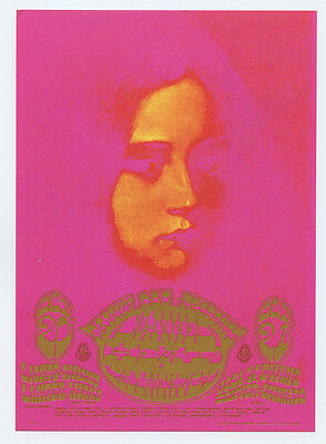 Family Dog D07 Celestial Moonchild Postcard Canned Heat 1967 Oct 20