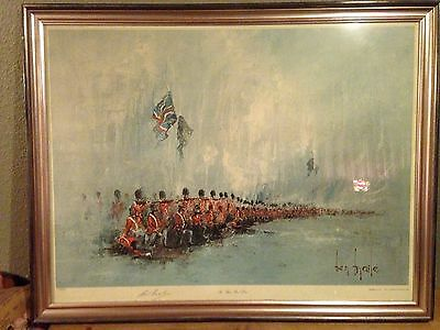 """Ben Maile """" The Thin Red Line"""" Limited Edition  Print"""