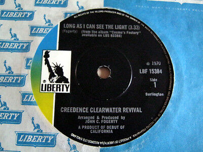 Creedence Clearwater Revival-Long As I Can See The Light-Liberty Lbf.15384 1970