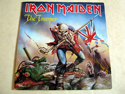 Iron Maiden-The Trooper-Emi.5397+Picture Sleeve 1983 Ex+