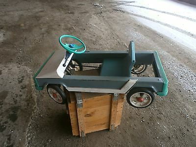 Antique Metal Pedal Car Russian Soviet USSR very rare