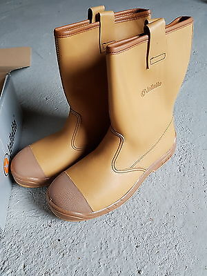 Jallatte Size 11 Jalnevis Cap Sas  Work Boots Safety Boots Steel Toe New
