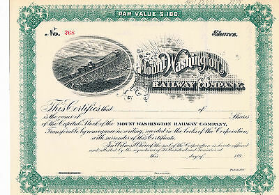Mount Washington Railway Co. - 189_