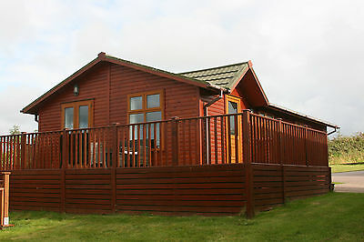 Fully furnished 2 bedroom holiday lodge for sale in North Devon