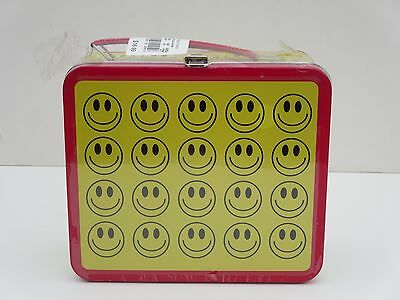 G Whiz Happy Smiley Face Lunchbox -  New Old Stock