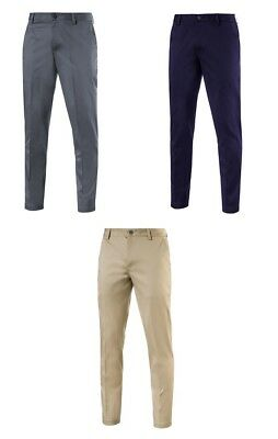 Puma Tailored Chino Pant Mens Golf Trousers - New 2017 - Choose Color & Size!!