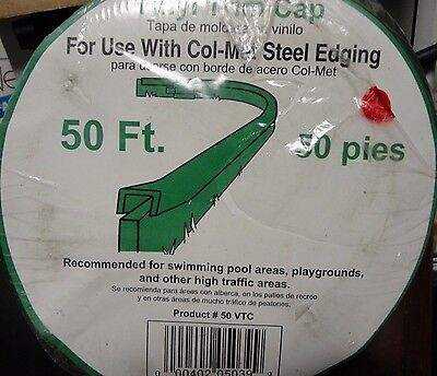 Vinyl Trim Cap 50 VTC for Use with Col-melt Steel Edging by Collier Metal Spec.