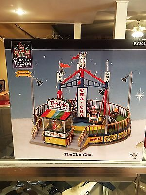 Lemax The Cha Cha  Animated Carnival Ride  Carole Towne Collection