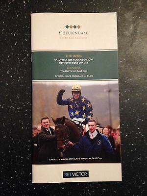 2016 BETVICTOR Gold Cup Cheltenham Taquin Du Seuil Great Condition