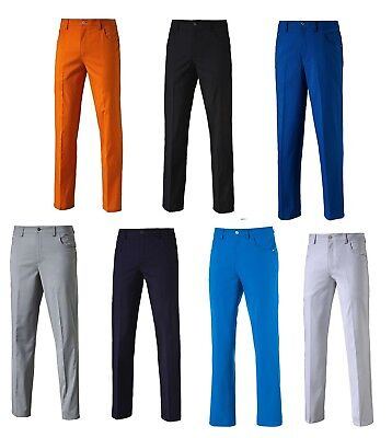 Puma 6 Pocket Pant Mens Golf Trousers - New 2017 - Choose Color & Size!!