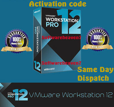 Vmware Workstation 12.5 Pro lifetime 3 PC ( 80% Off Sale)