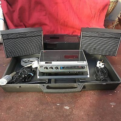 Sony Stereo Cassette Player Recorder TC126 Vintage ��